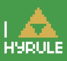 I Triforce Hyrule Kids Clothes