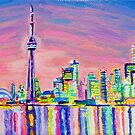 Toronto Skyline by Morgan Ralston