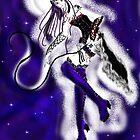 Umeko, Black Rose Witch (again) by duskoffaerie