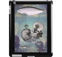 Emma the Nautilus-naut iPad Case/Skin