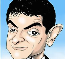 MR BEAN  by David Lumley