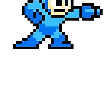 8 bit mega man by shans831