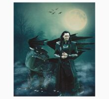 LOKI THE DRAGON LORD OF JOTUNHEIM by brrwsklly101