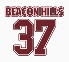 Jackson Whittemore 37 Beacon Hills Lacrosse Jersey  by hanelyn
