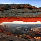 Sunrise Mesa Arch by Henk Meijer