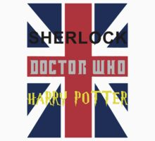 SHERLOCK DOCTOR WHO & HARRY POTTER by Alrescha
