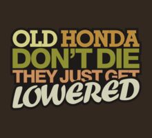 Old HONDA don't die they just get lowered - 6 by TheGearbox