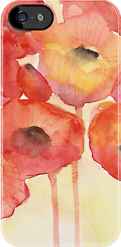 Red Poppy by Tess Johnson