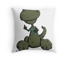 PI-Rex - The Math Saurus Throw Pillow