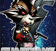 rocket raccoon by carlson123