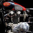 Gilera VTE Quattro Bulloni Motore 2 by Frank Kletschkus