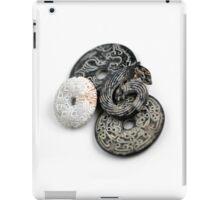 Jade Black And White iPad Case/Skin