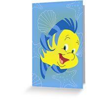 Flounder Greeting Card