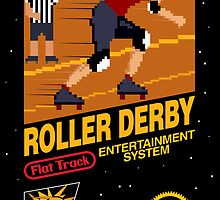 8-bit Roller Derby by renduh