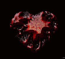 Grunge Broken Heart by SabrinaSummers