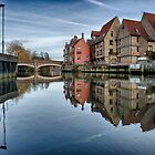 Fye Bridge, Norwich by Ruski