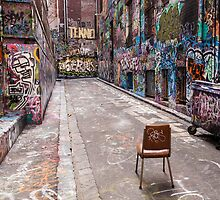 Rutledge Lane Chair Landscape by Esther Frieda