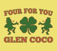 You Go Glen Coco Lucky Clover St Patricks Day T Shirt by xdurango