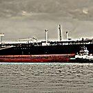 Exxon Tanker by Bob Moore