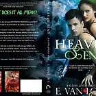 Heaven Sent Book Cover Jacket Design by Adara Rosalie