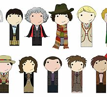Eleven Doctors by mimiboo