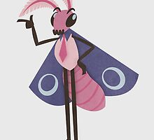 Business Moth by karmabees