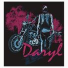 Daryl Drive - sticker by Tracey Gurney