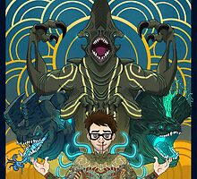 Newton Geiszler : Kaiju Groupie by buttburner