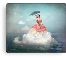 Swimming Cloud Canvas Print