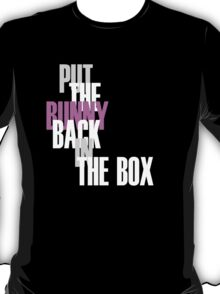 Con Air - Put The Bunny Back In The Box T-Shirt