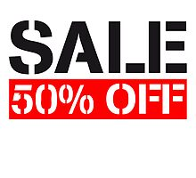 Sale reduced 50% off cheaper by Style-O-Mat