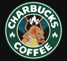 Charbucks Coffee Tee by jaydeemcfly