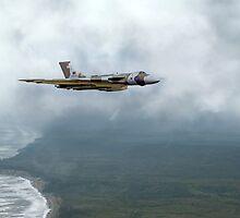 Vulcan Landfall by J Biggadike