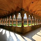 Cloister of St. Francis by annalisa bianchetti