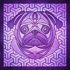 Violetly Pugly by helenasia