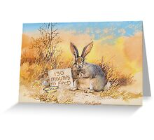 130 mouths to feed Greeting Card