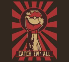 POKEGANDA: CATCH EM' ALL by B-Shirts