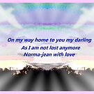 """ Liife is always with us"" by Norma-jean Morrison"