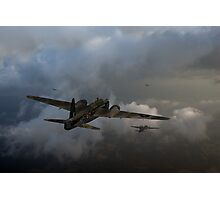 Taking the fight to the enemy Photographic Print