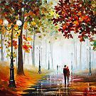 FOGGY MORNING by Leonid  Afremov