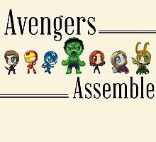 Avengers Assemble by hboyce12