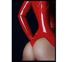 Jesya Red Cherry Photographic Print