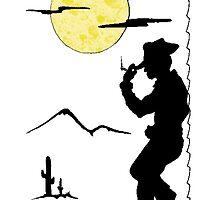 Cowboy Saloon by Skree