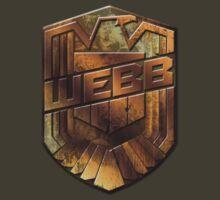 Custom Dredd Badge - Webb by CallsignShirts