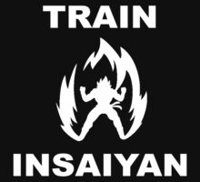 TRAIN INSAIYAN POWER UP by rav9000