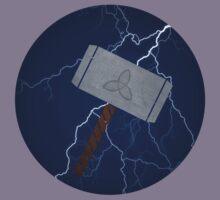 Mjolnir - Thors Hammer by BraderzLamchops