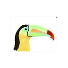 Keel-billed Toucan by TLCampbell