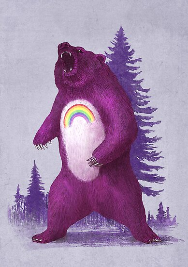 Scare Bear  by Terry  Fan