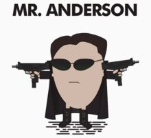 Mr. Anderson by CarlDeaves