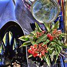 Vintage Flower Pot by JaninesWorld